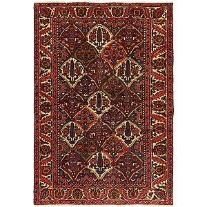 4' 8 x 7' Bakhtiar Persian Rug