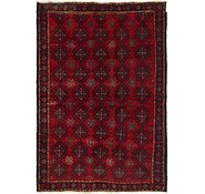 Link to 4' 7 x 6' 9 Balouch Persian Rug