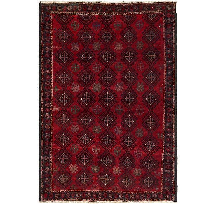 140cm x 205cm Balouch Persian Rug
