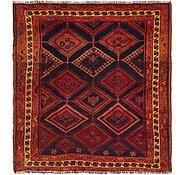 Link to 5' 4 x 5' 8 Shiraz Persian Square Rug
