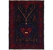 Link to 4' 10 x 7' Meshkin Persian Rug