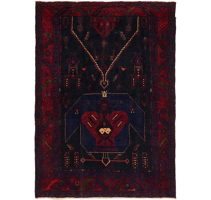 4' 10 x 7' Meshkin Persian Rug