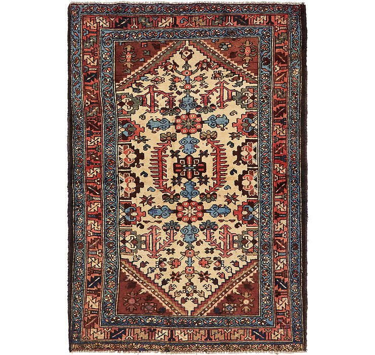 4' 5 x 6' 6 Hamedan Persian Rug