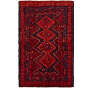 Link to 4' x 6' 3 Shiraz-Lori Persian Rug