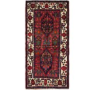 Link to 3' 5 x 7' 5 Hamedan Persian Runner Rug