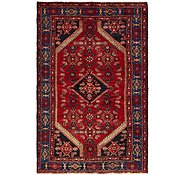 Link to 4' 6 x 7' 1 Mazlaghan Persian Rug