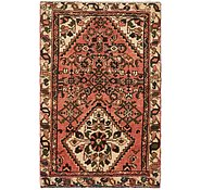 Link to 3' 1 x 4' 10 Hossainabad Persian Rug