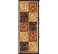 Link to 1' 10 x 4' 10 Reproduction Gabbeh Runner Rug