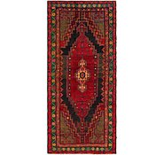 Link to 4' 10 x 11' Mazlaghan Persian Runner Rug