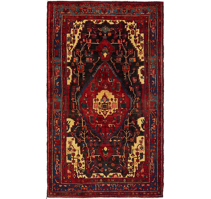 HandKnotted 5' 4 x 9' 3 Nahavand Persian Rug