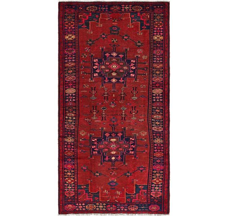 5' x 9' 8 Ferdos Persian Runner Rug