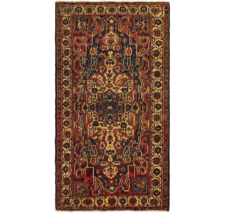 5' 2 x 10' Bakhtiar Persian Rug