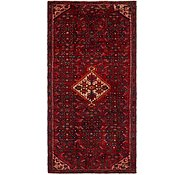 Link to 4' 5 x 9' 2 Hossainabad Persian Runner Rug