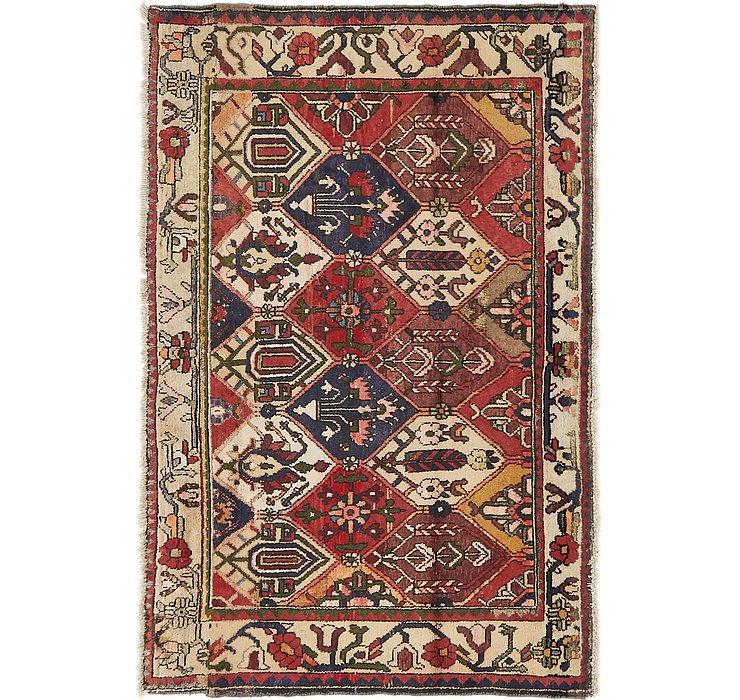 4' 4 x 6' 8 Bakhtiari Persian Rug