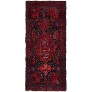 Unique Loom 4' x 9' 9 Meshkin Persian Runner ...