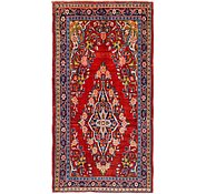 Link to 4' x 7' 8 Farahan Persian Runner Rug