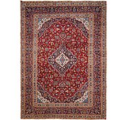Link to 9' 10 x 13' 6 Kashan Persian Rug