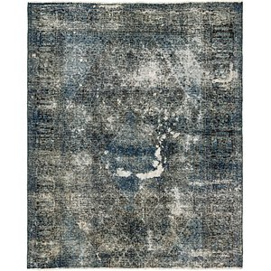 7' 2 x 8' 9 Ultra Vintage Persian Rug