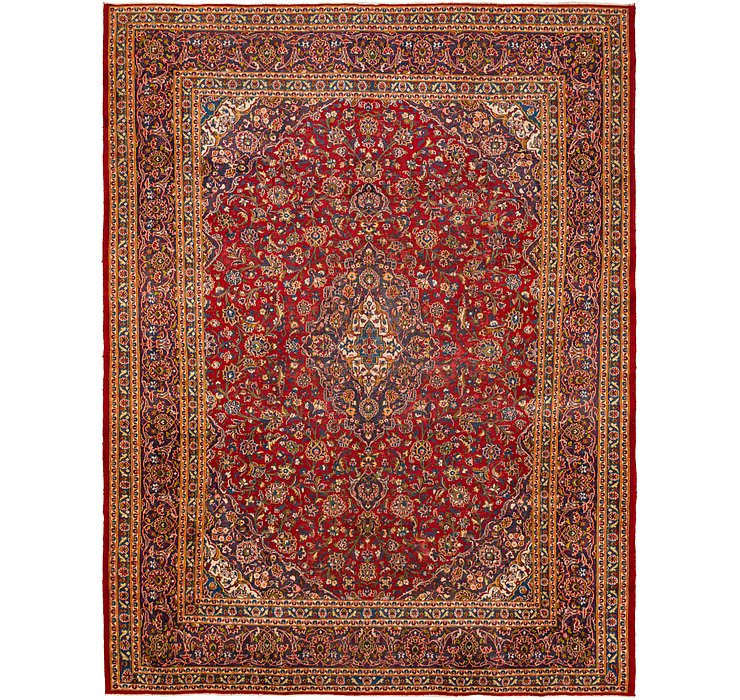 9' 6 x 12' 6 Kashan Persian Rug