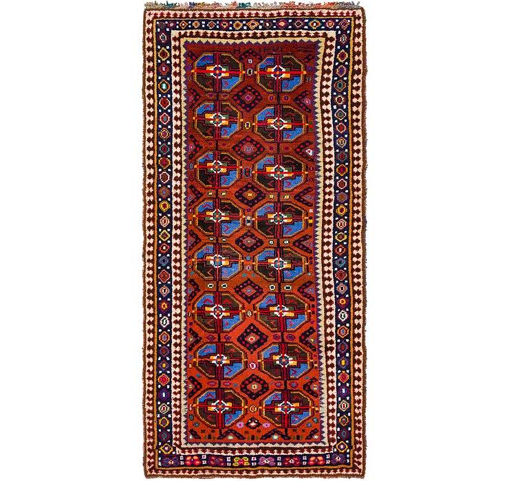5' 4 x 11' 6 Moroccan Runner Rug