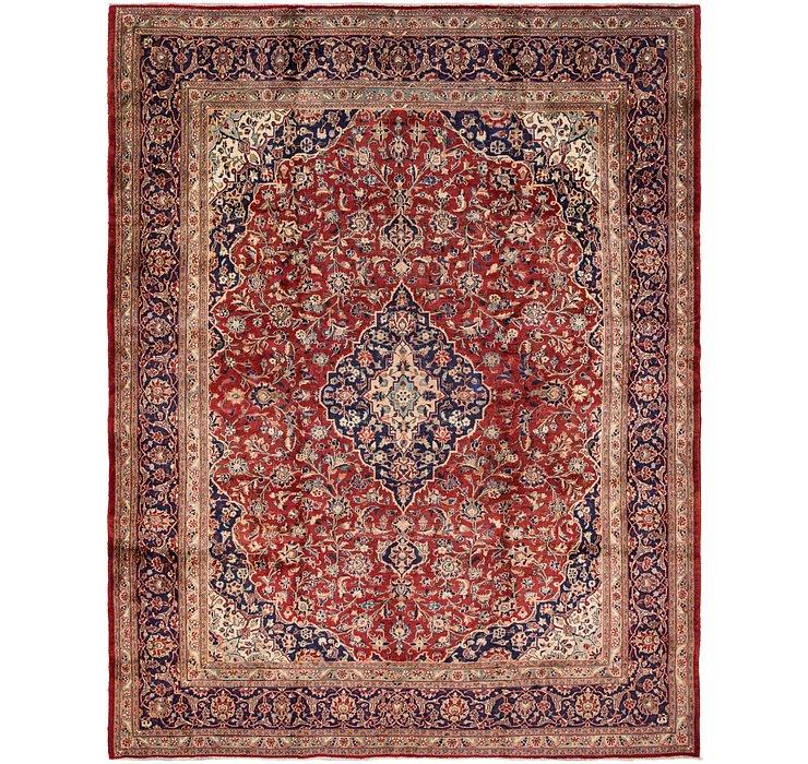 9' 5 x 12' Kashan Persian Rug