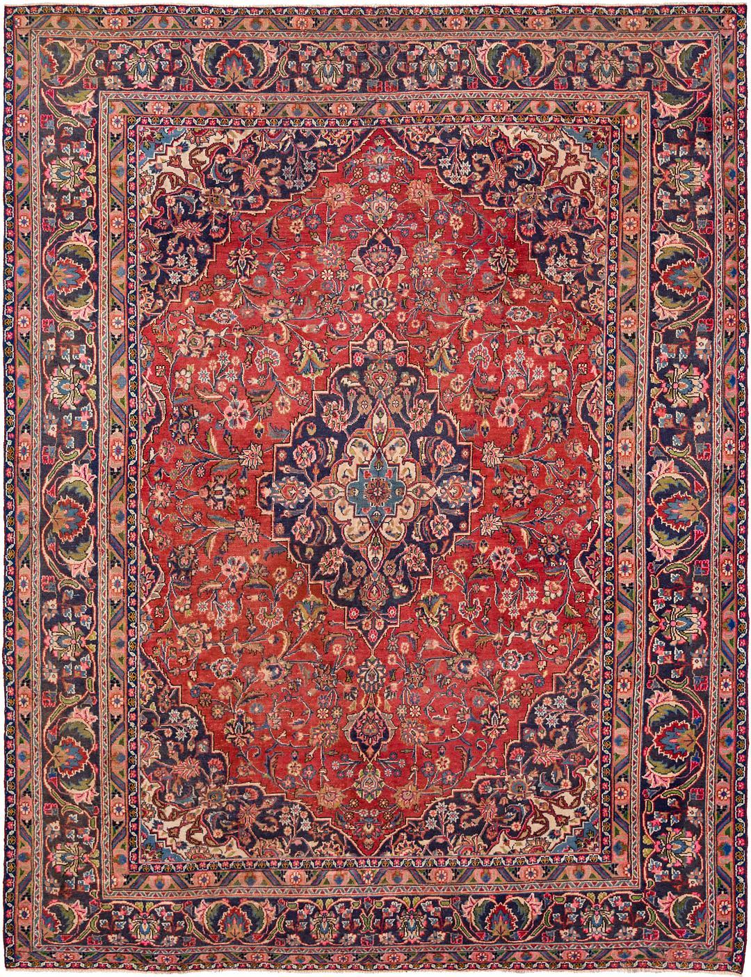 9 5 X 12 2 Mahal Persian Rug