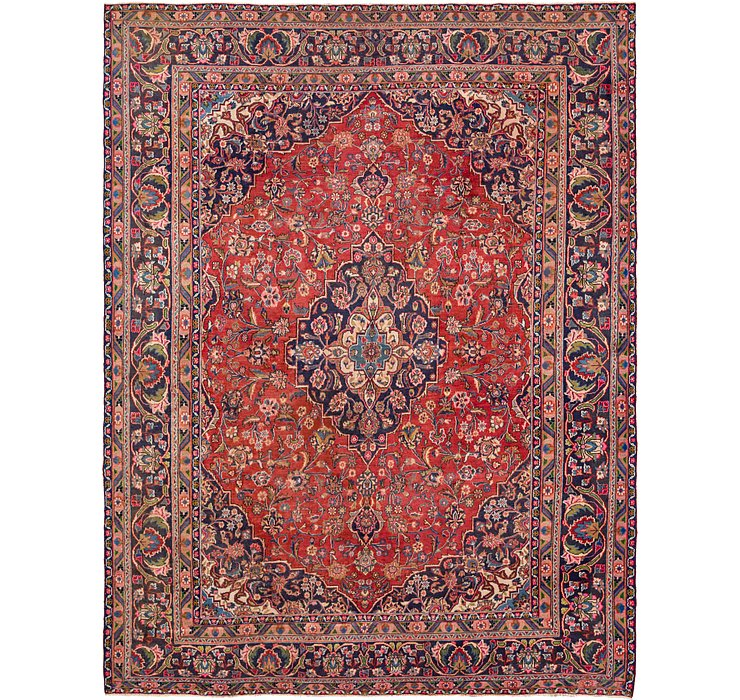 HandKnotted 9' 5 x 12' 2 Mahal Persian Rug