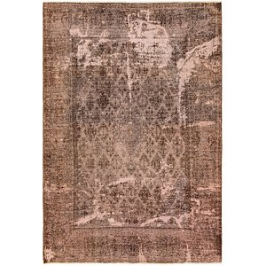 HandKnotted 6' 10 x 10' Ultra Vintage Persian Rug