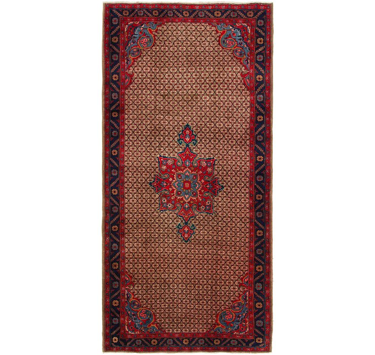 5' x 10' 7 Songhor Persian Runner ...
