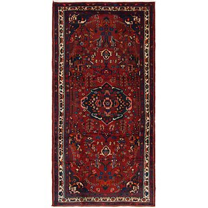 5' x 10' Hamedan Persian Runner ...