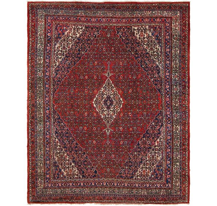 10' 6 x 13' Hamedan Persian Rug