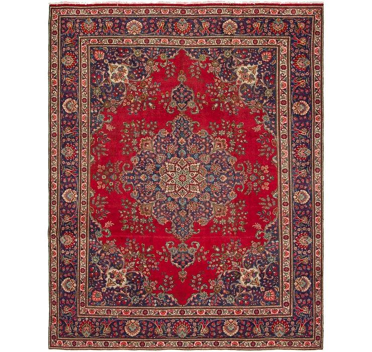 10' x 12' 8 Tabriz Persian Rug