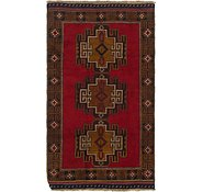 Link to 107cm x 183cm Balouch Persian Rug