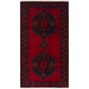HandKnotted 3' 7 x 6' 8 Balouch Persian Rug