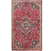 Link to 3' 6 x 6' Mashad Persian Rug