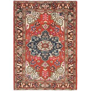 Unique Loom 4' 5 x 6' 5 Hamedan Persian Rug
