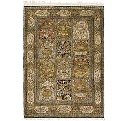 Link to 3' 6 x 5' Qom Persian Rug