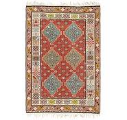Link to 7' x 10' 2 Kilim Fars Rug