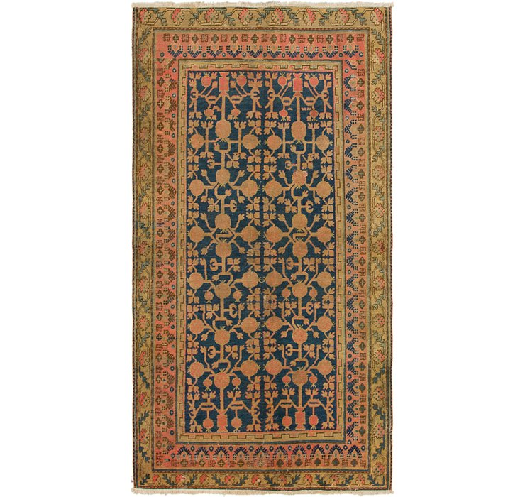 4' x 8' Malayer Persian Runner ...