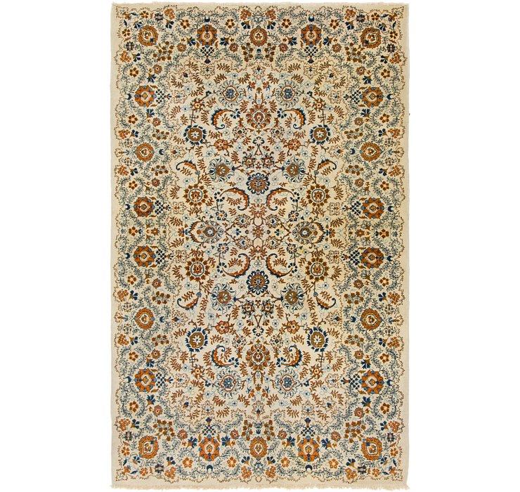 4' 8 x 7' 8 Kashan Persian Rug