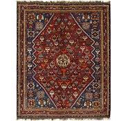 Link to 5' x 6' 4 Ghashghaei Persian Rug