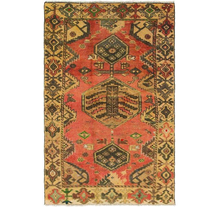 4' x 6' 2 Hamedan Persian Rug