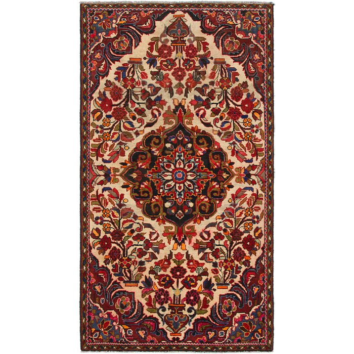 4' x 7' 5 Borchelu Persian Rug