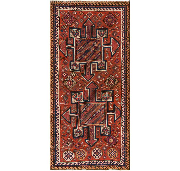 4' 5 x 9' 3 Shiraz Persian Runner Rug
