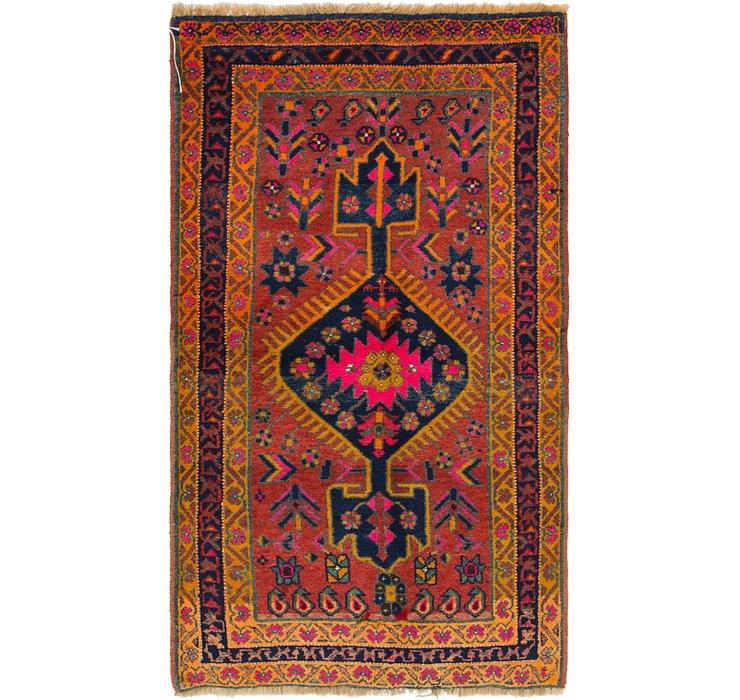 130cm x 225cm Shiraz-Lori Persian Rug