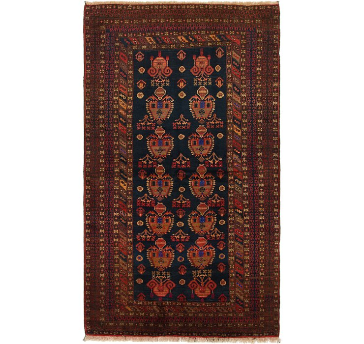 HandKnotted 4' 4 x 7' 7 Balouch Persian Rug