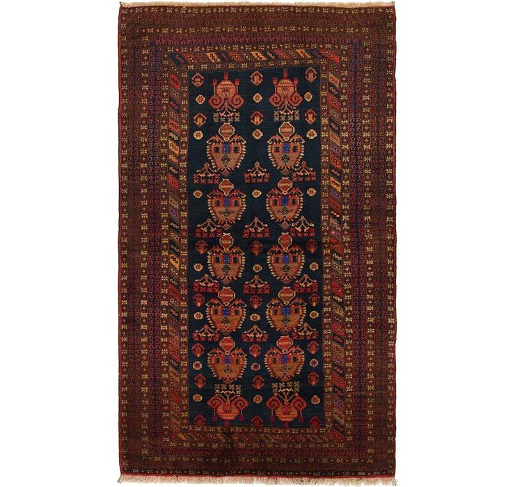 132cm x 230cm Balouch Persian Rug