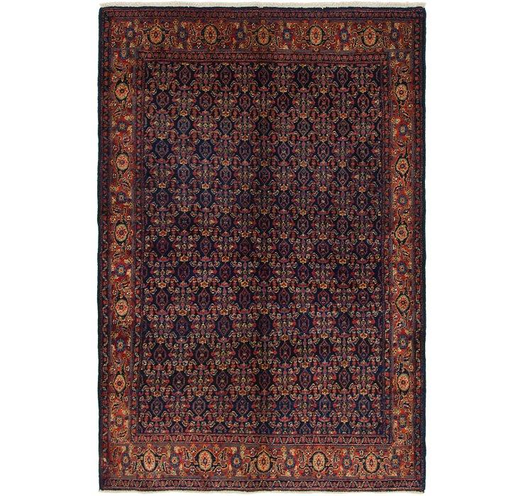 4' 10 x 7' 2 Bidjar Persian Rug