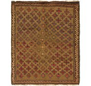 Link to 4' 10 x 6' Shiraz-Lori Persian Rug