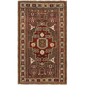 Unique Loom 4' 2 x 7' 3 Shiraz Persian Rug